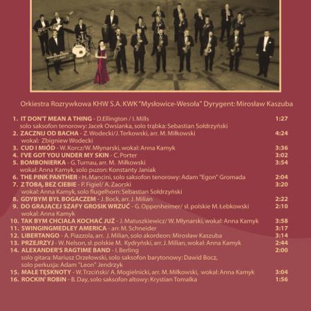"""Orkiestra Rozrywkowa KHW S.A. KWK """"Mysłowice-Wesoła"""""""